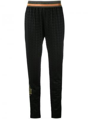Зауженные брюки Mr & Mrs Italy. Цвет: чёрный