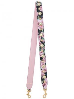 Ремень для сумки с заклепками Dolce & Gabbana. Цвет: розовый и фиолетовый