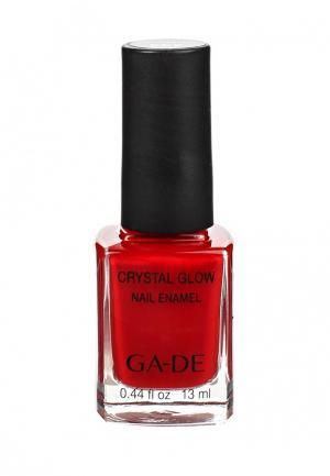 Лак для ногтей Ga-De. Цвет: красный