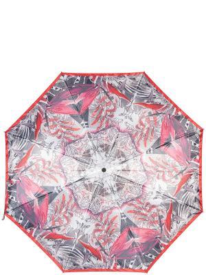 Зонт Eleganzza. Цвет: красный, розовый, серый