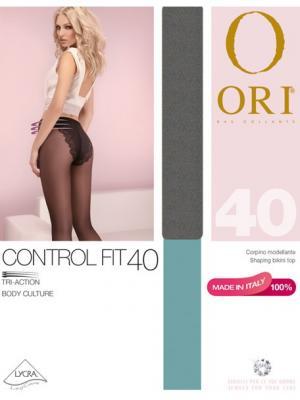 Колготки ORI Control Fit 40 den. Цвет: серый