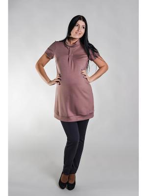 Платье трикотажное для беременных impressmama