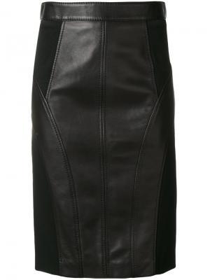 Юбка-карандаш Versace. Цвет: чёрный