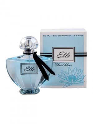 Парфюмерная вода Elle Fluid blues 50мл ПонтиПарфюм. Цвет: голубой