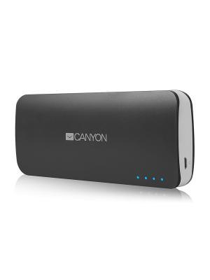 Портативный аккумулятор CNE-CPB100DG, 10000 мАч CANYON. Цвет: серый
