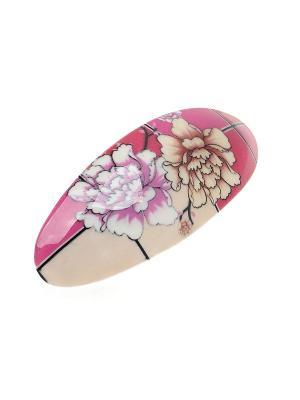 Заколка-автомат Migura. Цвет: розовый, красный, кремовый