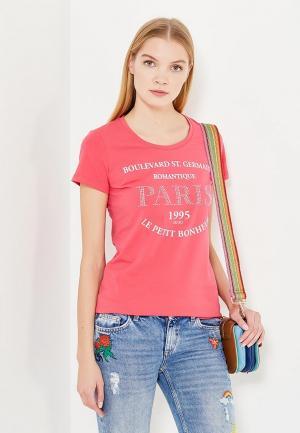 Футболка Liu Jo Jeans. Цвет: розовый