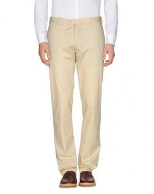 Повседневные брюки MORRIS. Цвет: бежевый