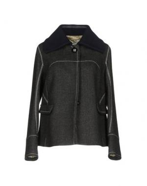 Пальто AQUILANO-RIMONDI. Цвет: черный