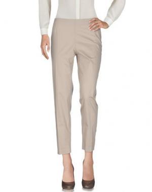 Повседневные брюки PESERICO SIGN. Цвет: бежевый
