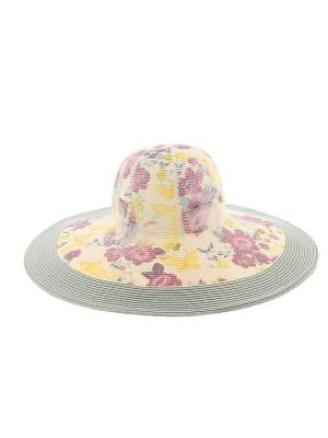 Шляпа R.Mountain. Цвет: зеленый, бежевый, желтый