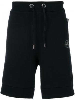 Спортивные шорты Philipp Plein. Цвет: чёрный