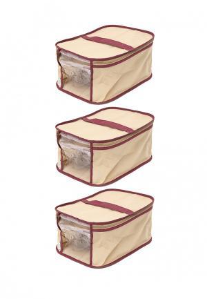 Система хранения для обуви 3 пр. Homsu. Цвет: бежевый