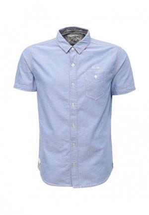 Рубашка MeZaGuz. Цвет: голубой