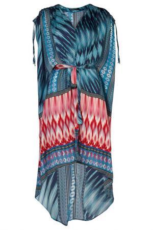 Платье Apart. Цвет: бирюзовый, многоцветный