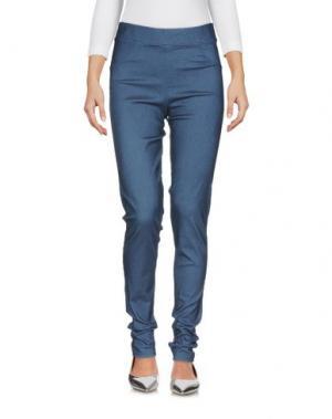 Джинсовые брюки PIERRE MANTOUX. Цвет: синий