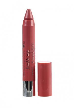 Блеск для губ Isadora. Цвет: розовый