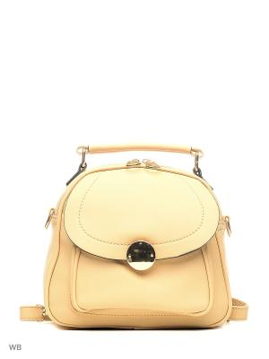 Рюкзак-сумка Sofiya. Цвет: персиковый