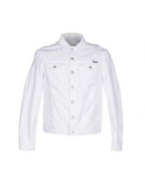 Джинсовая верхняя одежда GUYA G.. Цвет: белый