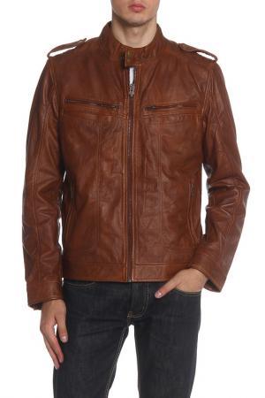 Куртка Barneys originals. Цвет: dark tan