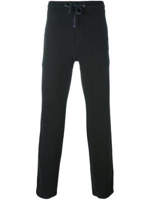 Спортивные брюки на шнурке James Perse. Цвет: чёрный
