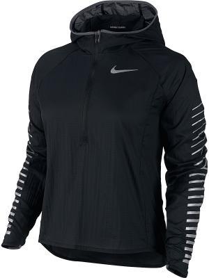 Анорак W NK IMP LT JKT HD GX Nike. Цвет: черный