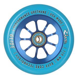 Колесо для самоката  Glide 110mm Blue On River. Цвет: голубой