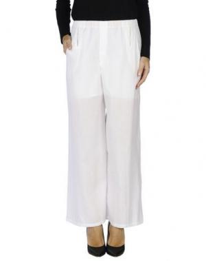 Повседневные брюки CARLO CONTRADA. Цвет: белый