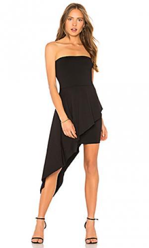 Платье Susana Monaco. Цвет: черный