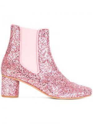Ботильоны Anita Stine Goya. Цвет: розовый и фиолетовый