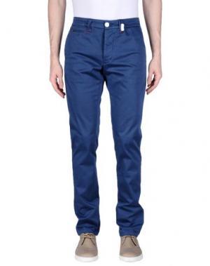Повседневные брюки TRAMAROSSA. Цвет: грифельно-синий