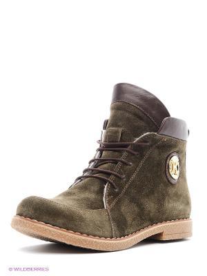 Ботинки Roccol. Цвет: хаки