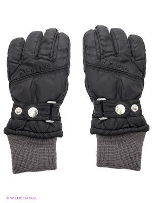 Перчатки Devance. Цвет: черный