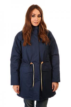 Куртка парка женская  Ws 15 Navy Today. Цвет: синий