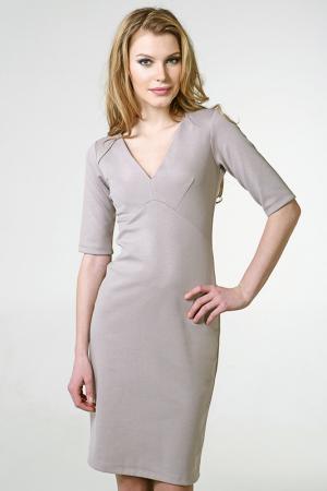 Платье Moe sladkoe platie. Цвет: бежевый