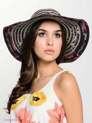 Шляпа FOMAS. Цвет: темно-серый, бежевый
