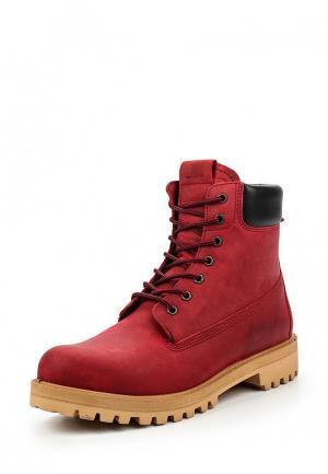 Ботинки Wojas. Цвет: красный
