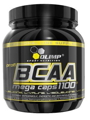 Аминокислоты OLIMP BCAA Mega caps  300 капс Nutrition. Цвет: черный