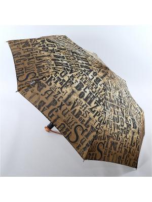 Зонт Airton. Цвет: серо-коричневый, серый