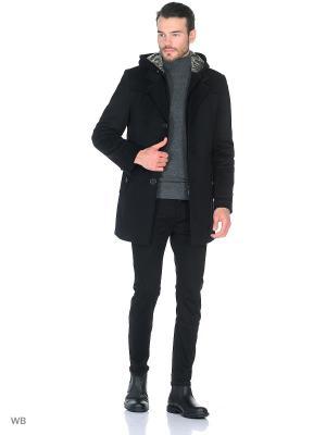 Пальто Sainy. Цвет: черный