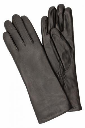 Перчатки Eleganzza. Цвет: черный, ягненок