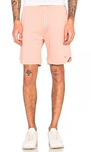 Классические шорты Asics Platinum. Цвет: розовый