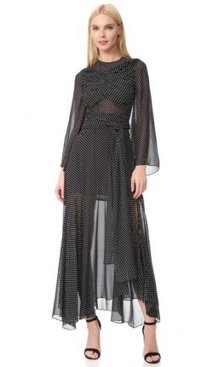 Платье Stella Jill Stuart. Цвет: черный/мел