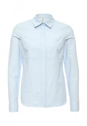 Рубашка Olga Grinyuk. Цвет: голубой