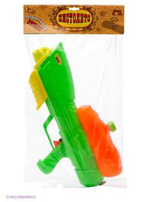 Водный пистолет с помпой 45см Тилибом. Цвет: прозрачный
