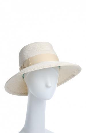 Шляпа Eric Javits. Цвет: кремовый