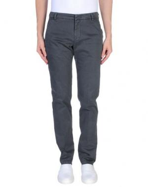 Повседневные брюки GABARDINE. Цвет: свинцово-серый