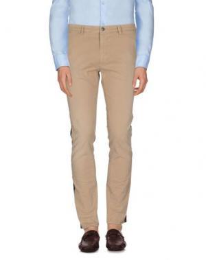 Повседневные брюки (+) PEOPLE. Цвет: бежевый