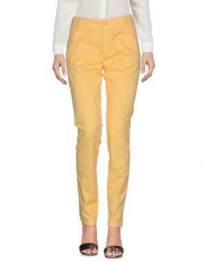 Повседневные брюки MASON'S. Цвет: абрикосовый