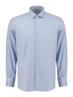 Рубашка Ingram. Цвет: голубой